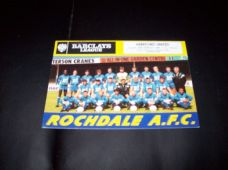 Rochdale v Hereford United, 1988/89